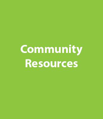 Community Resources Graphic