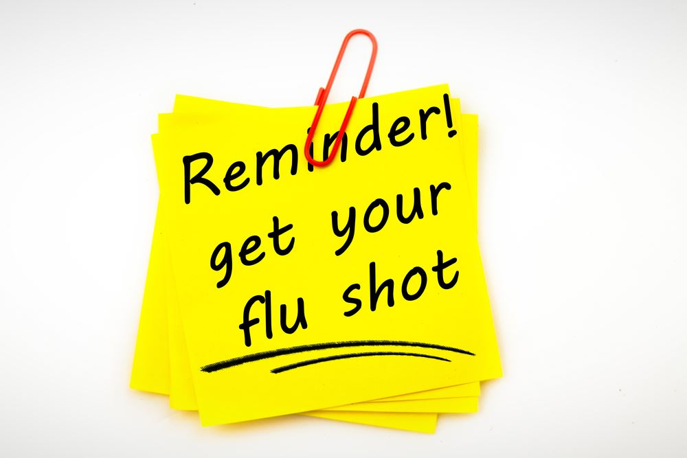 Flu shot reminder Opens in new window